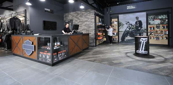 Harley Davidson Gateshead Showroom