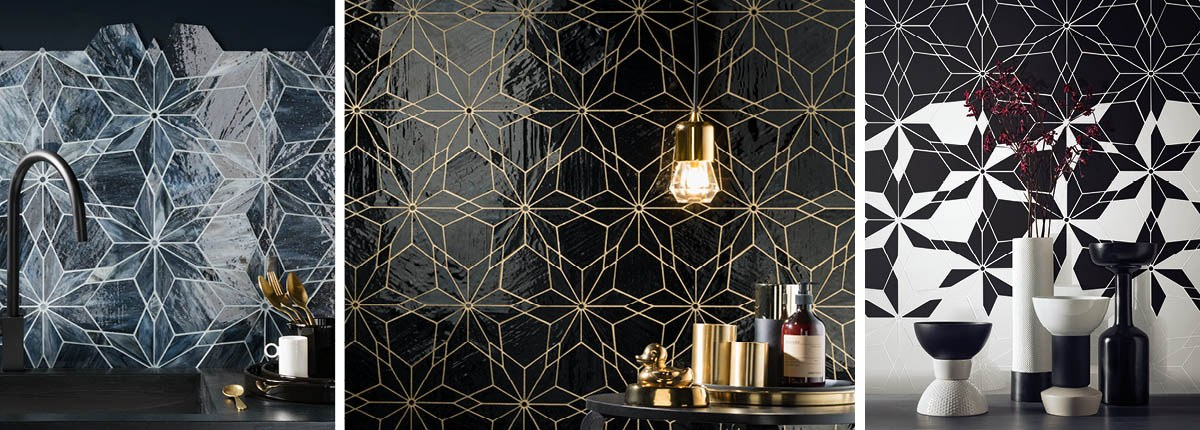 Diamond Mosaic Tile Collection from CTD Architectural Tiles