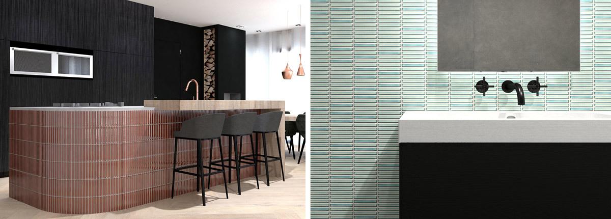 Kit Kat Tiles from CTD Architectural Tiles